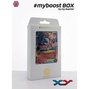 CARTE A COLLECTIONNER Coffret #myboost MEGA M CAMERUPT EX XY198 - XY - 1