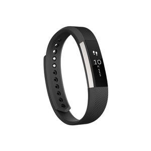 MONTRE CONNECTÉE Fitbit Alta Fitness Tracker, Silver/Black, Large