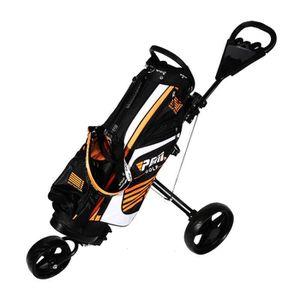 SAC DE GOLF Le nouveau chariot pliable de chariot de golf de t