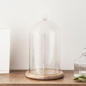cloche en verre deco achat vente cloche en verre deco pas cher soldes d s le 10 janvier. Black Bedroom Furniture Sets. Home Design Ideas