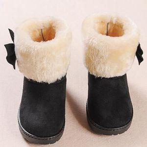 BOTTE Spentoper Mode bowknot hiver bébé fille style coto