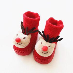 93ea22dacebe0 ... anti-dérapant de Noël pour bébé. CHAUSSON - PANTOUFLE SHINA Chausson  pour nouveau-nés bébé chaussette an
