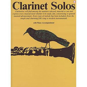 PARTITION Clarinet Solos Clarinette Partitions