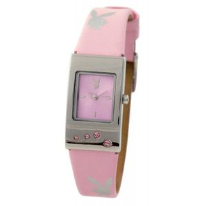 MONTRE Montre Femme Playboy PB0229PKA bracelet plastique
