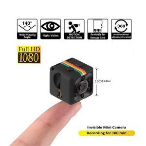 CAMÉRA MINIATURE Caméra Cachée 1080P Mini Caméra Spy Web Portable H