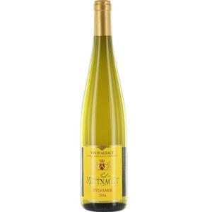 VIN BLANC DOMAINE MITTNACHT Sylvaner Vin d' Alsace - 2016 -