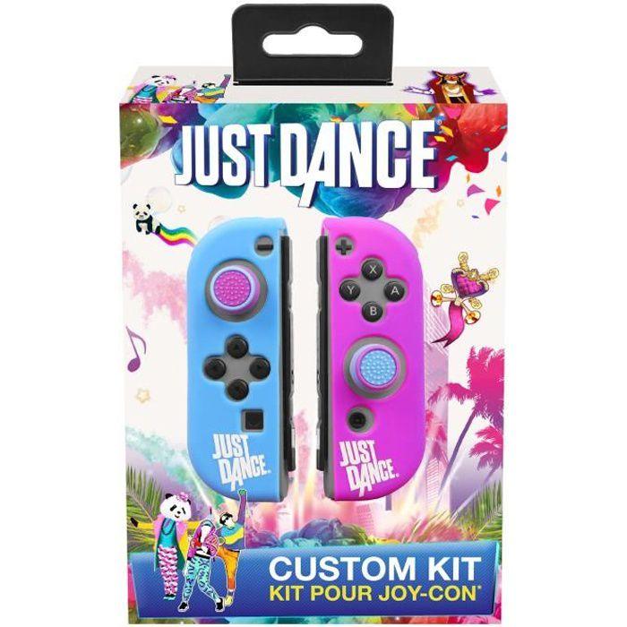 Just Dance Officiel - Housse de protection en silicone, anti dérapante avec accessoires pour manette