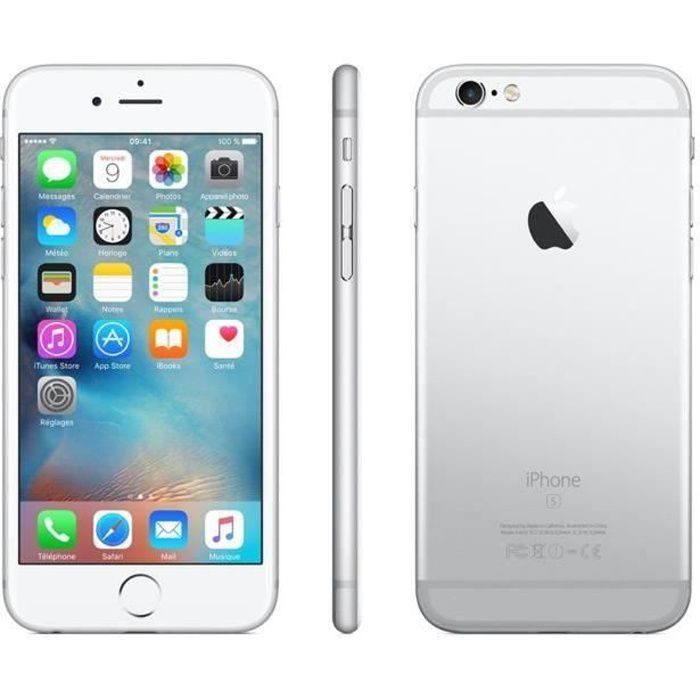 SMARTPHONE iPhone 6s 64 Go Argent Occasion - Comme Neuf