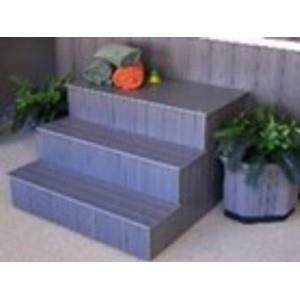 escaliers pour spa achat vente marche balneo escaliers. Black Bedroom Furniture Sets. Home Design Ideas