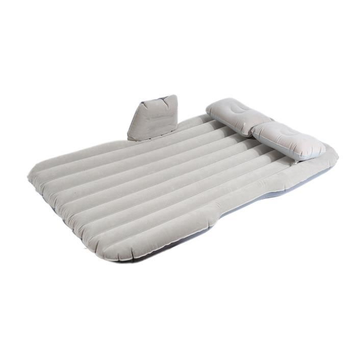 Voiture Voyage Matelas Gonflable Gris Air Lit Seat Camping Universal