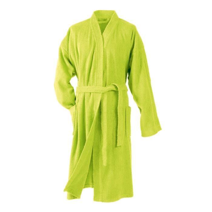 SERVIETTE - PEIGNOIR DOUCEUR D'INTERIEUR Peignoir kimono éponge 100% co