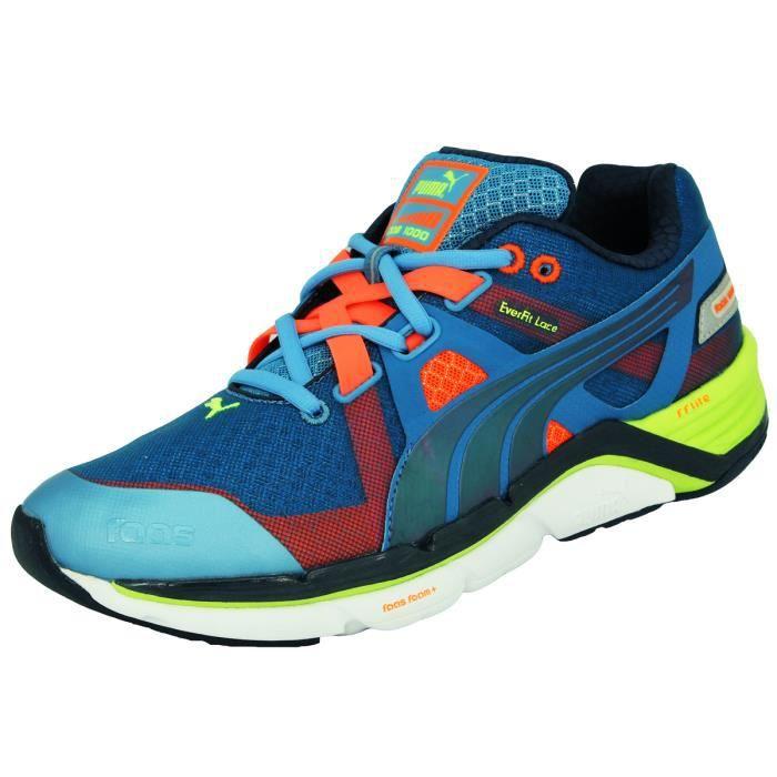 Puma FAAS 1000 Chaussures de Course Running Homme Bleu Everfit Lace Bleu Bleu - Achat / Vente basket  - Soldes* dès le 27 juin ! Cdiscount