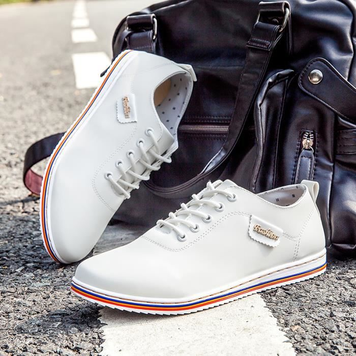 2016 chaussures casual low-top patin hommes dentelle-up appartements de sport LDrZ0