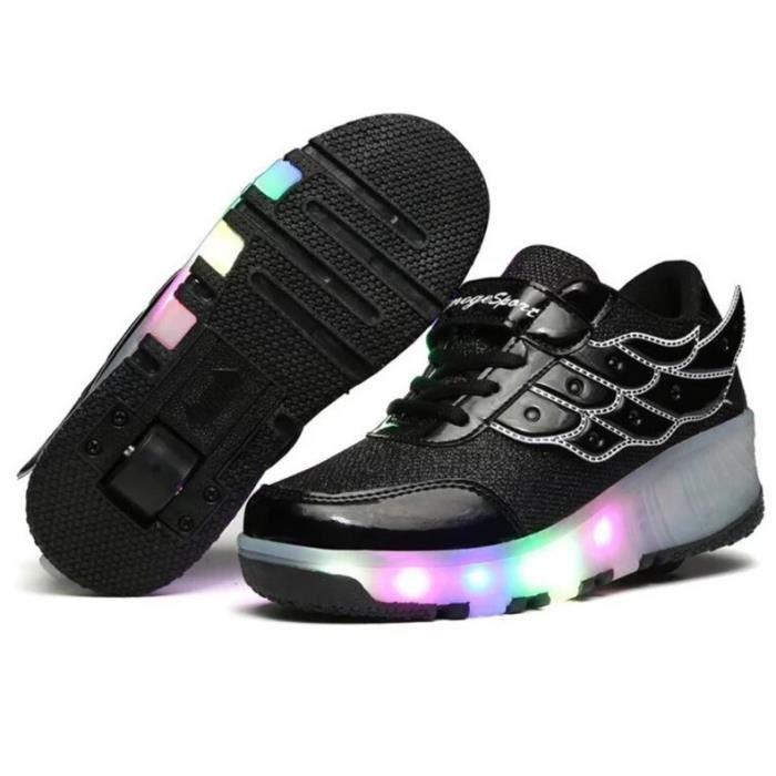 Mode 7 Couleurs LED Éclairage Enfant Heelys Cha...
