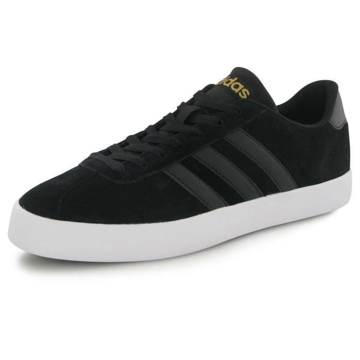 outlet store a608f 6cab6 BASKET Adidas Neo Vl Court Vulc noir, baskets mode homme