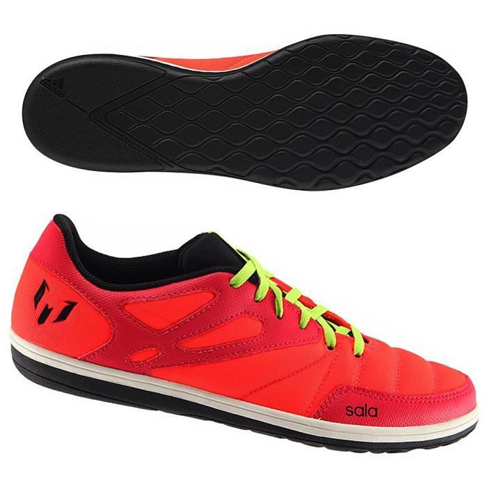 Chaussure Football Indoor MESSI 15.4 STREET Rouge AF4679
