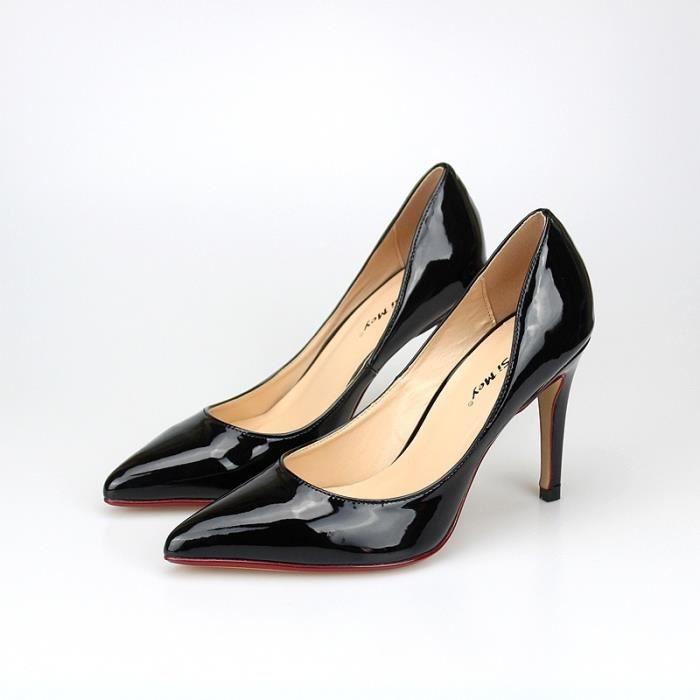 Fashion Designer Femmes Chaussures 10cm Pompes Sexy Plus Size Toe Talons hauts Pointu de mariée femme talon mince 9SmWA