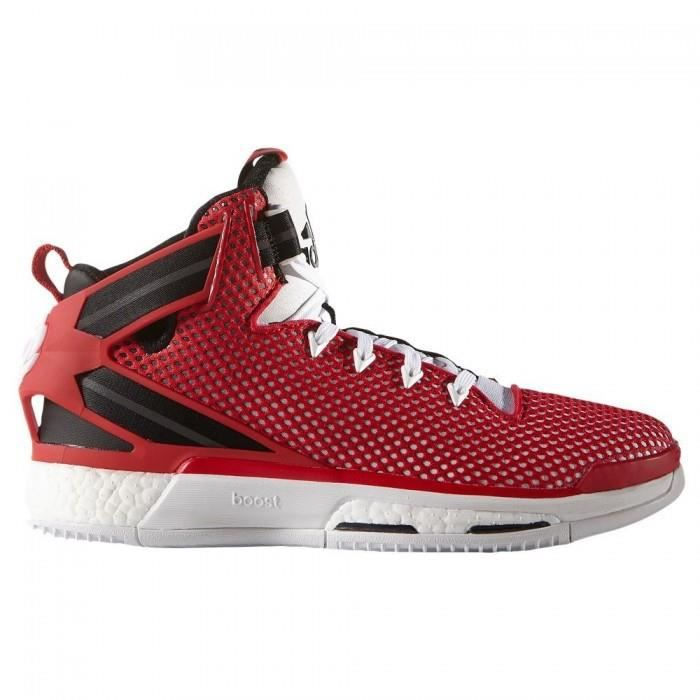 timeless design b610b 2759f Chaussure de Basketball adidas Derrick Rose 6 Boost Rouge