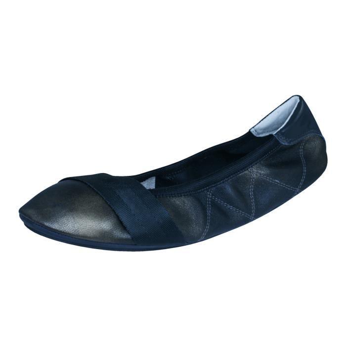 Puma Rudolf Dassler Feder Pompes - chaussures de ballet en cuir pour femme Rouge 6 SD5zJJ