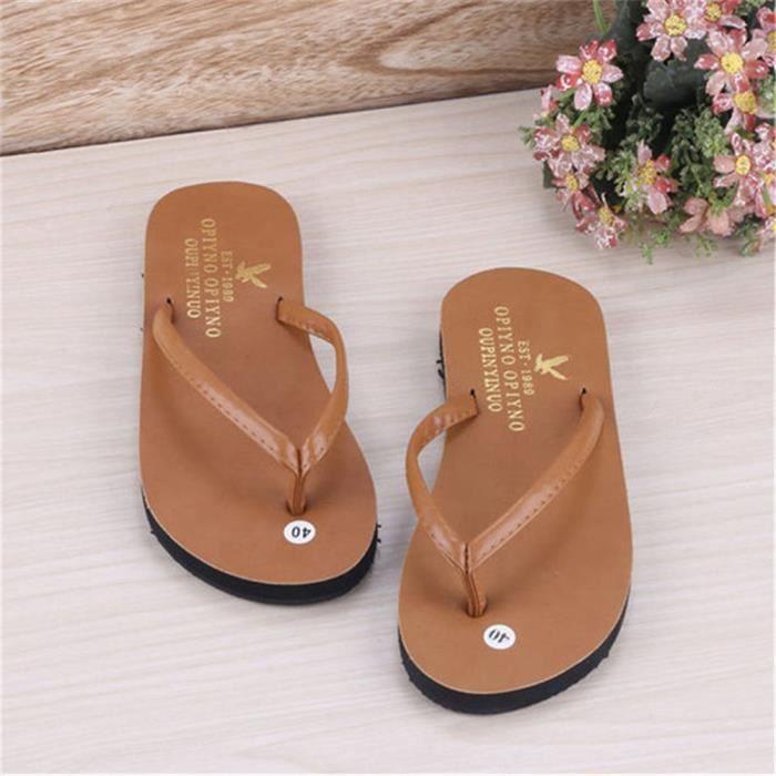 3f06448ffe1c1 Hommes Pantoufles sandales plages homme hommes de chaussures d été sandales  sandale rétro chaussure homme