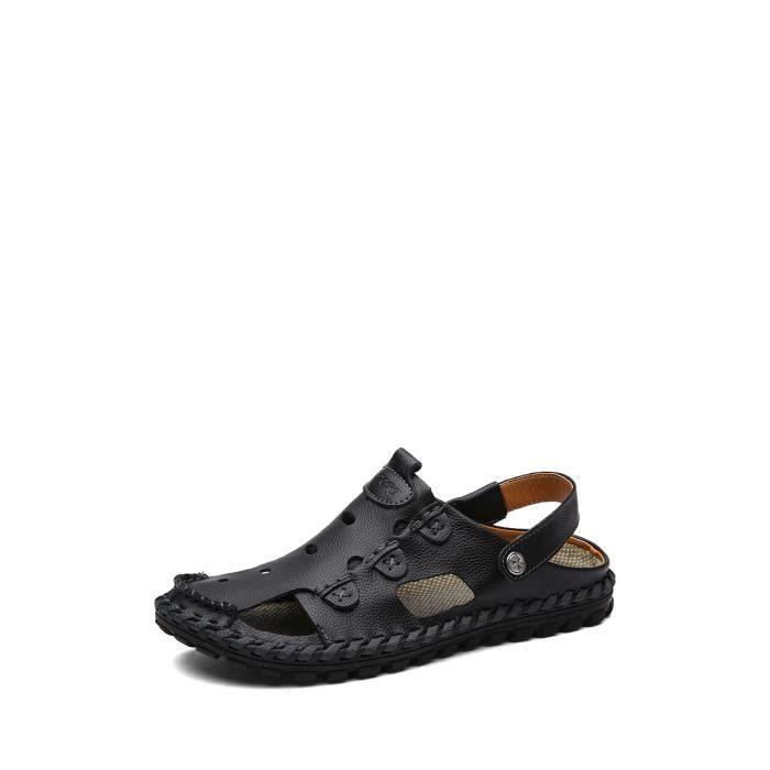 Hommes Sandales Chic creux flexible en respirant souple Comfy Chaussures 3827470