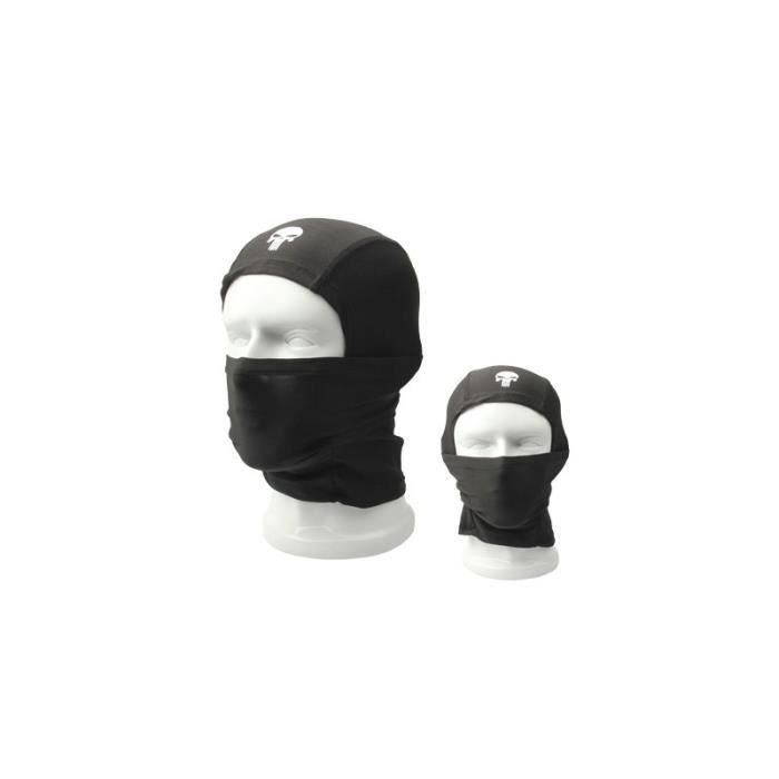 Cagoule Outdoor Head Skull Face Mask Noir
