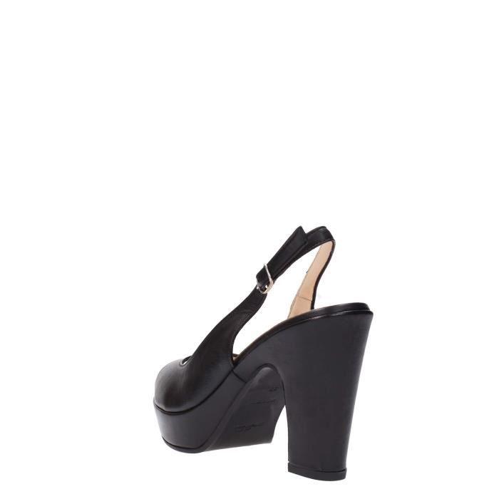 Melluso Sandal Femme Black