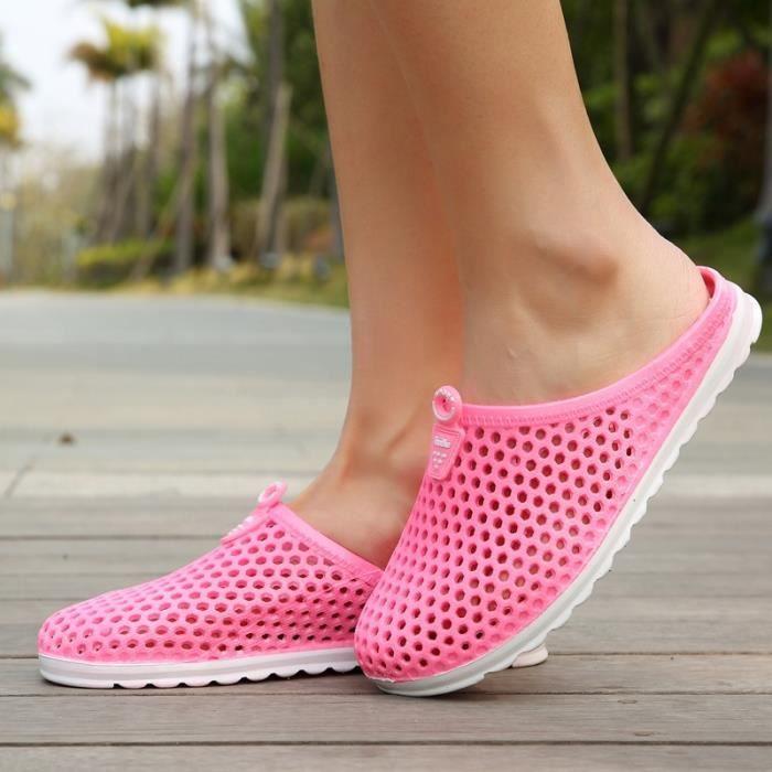 Décontractée Etudiant Skid-résistance Chaussures Sandales de femme