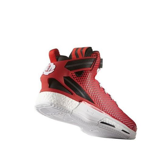 low priced 20eee ee7cc Chaussure de Basketball adidas Derrick Rose 6 Boost Rouge - Prix pas cher -  Cdiscount