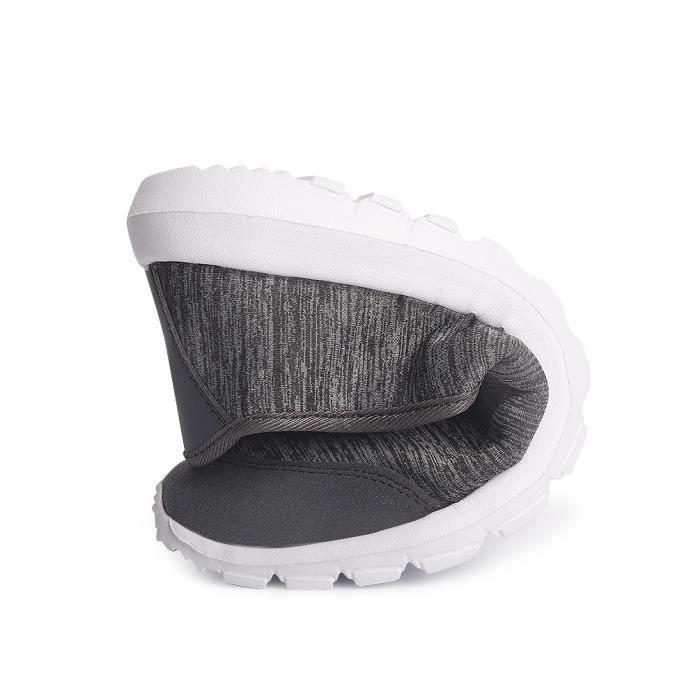 Femme Moccasin Qualité Supérieure Confortable Chaussure Hiver Nouvelle Mode Antidérapant Moccasins Couple Extravagant Taille 36-42 WtzRctOX