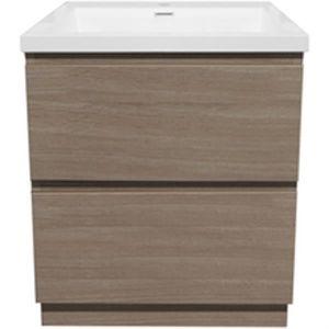 meuble salle de bain avec vasque 60cm achat vente. Black Bedroom Furniture Sets. Home Design Ideas