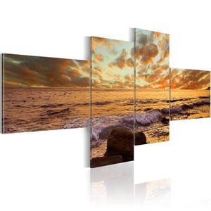 tableau coucher de soleil achat vente pas cher. Black Bedroom Furniture Sets. Home Design Ideas