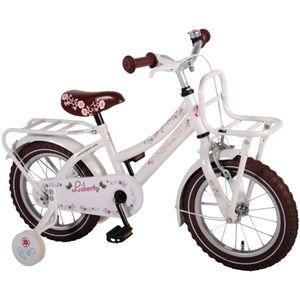 VÉLO ENFANT Vélo Enfant Fille Liberty Urban 14 Pouces avec Rou