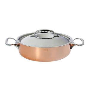 POÊLE - SAUTEUSE DE BUYER Sautoir cuivre inox - Ø 28 cm - Cuivre et