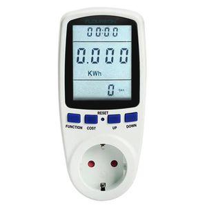 ÉCRAN VIDÉOSURVEILLANCE Floureon Moniteur d'énergie wattmètre EU TS-836A