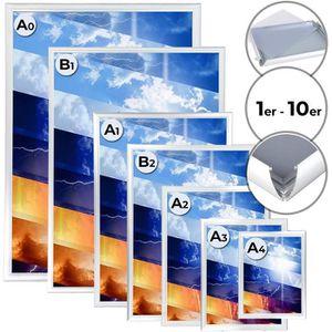 CADRE PHOTO Cadre clippant en aluminium, dans 7 formats différ