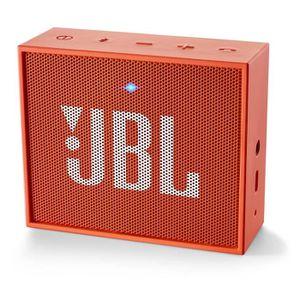 COQUE ENCEINTE PORTABLE JBL GO Enceinte portable Bluetooth - Orange