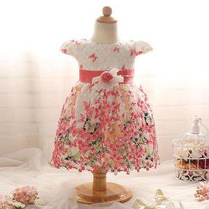 ROBE Bébé fille robe dentelle vêtements Bow pour bébés