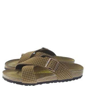 SANDALE - NU-PIEDS Birkenstock Tunis Homme Cocoa Cocoa