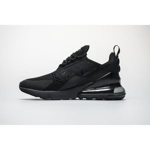 new product ca97a 256bf ESPADRILLE Basket Nike Air Max 270 - Ah8050-001 Homme - Noir