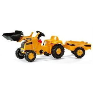 TRACTEUR - CHANTIER Rolly Toys - 02 328 8 - Tracteur À Pédales - Rolly