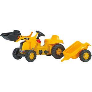 TRACTEUR - CHANTIER Tracteur à pédales CATERPILLAR avec chargeur et r…