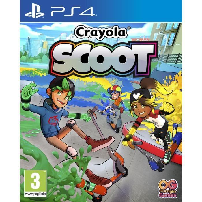 Crayola Scoot Jeu PS4