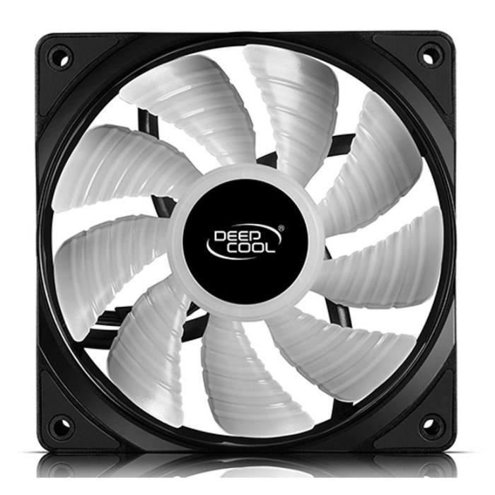DEEPCOOL Ventilateur Pour Boîtier RGB RF120 RGB (Pack de 1)