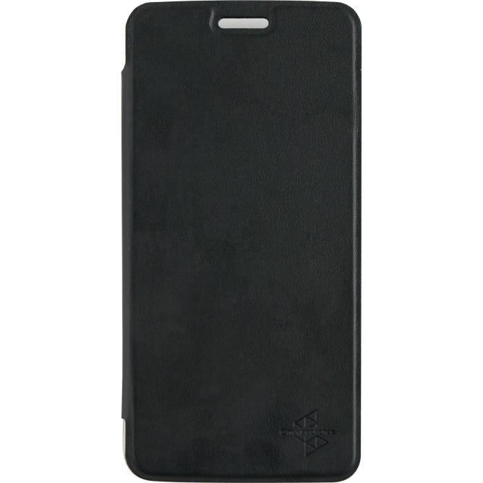 MADEFORMOTO Étui folio case - Motorola C Plus - Noir