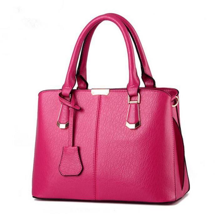 4b60b018a2 sac à main femme rose sac marque qualité supérieure sac à main femme cuir  2018 sacs à main de luxe femmes sacs designer Classique