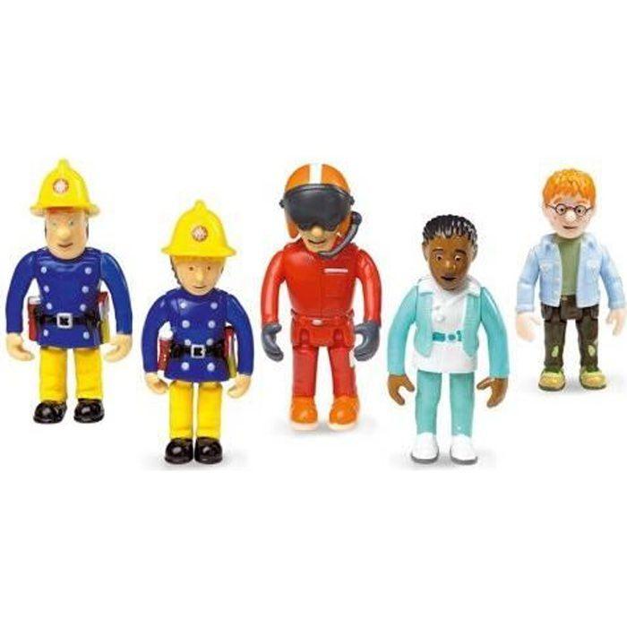 Coffret De 5 Figurines Sam Le Pompier Achat Vente