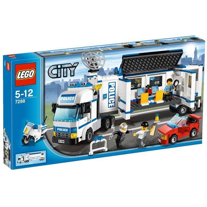 Lego city l 39 unit de police mobile achat vente - Lego city camion police ...