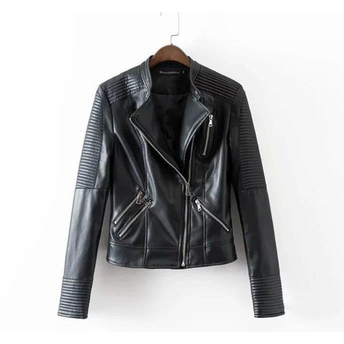 La veste en cuir classique