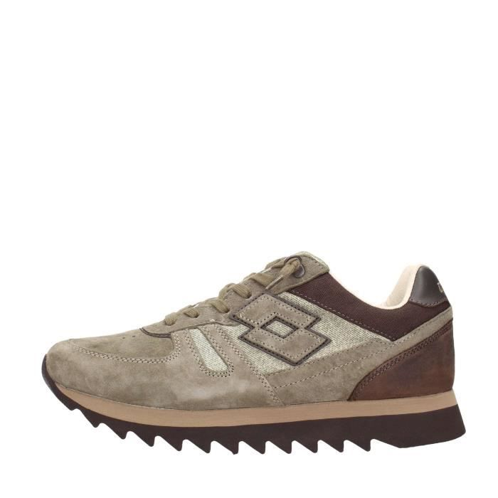 Lotto Leggenda Sneakers Homme Vert, 43